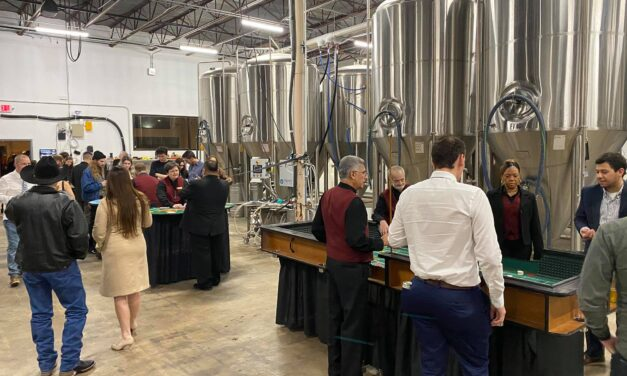 Beer Making and Gaming in San Marcos, TX